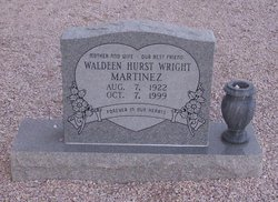 Otha Waldeen <i>Hurst</i> Martinez