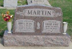 Lillie Faye <i>Bays</i> Martin