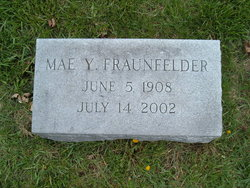 Mrs Mae Y. <i>Yeisley</i> Fraunfelder