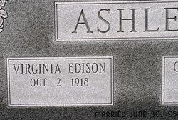 Virginia <i>Edison</i> Ashley