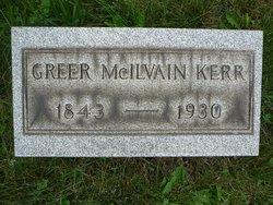 Rev Greer McIlvaine Kerr