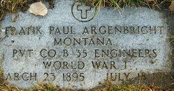 Frank Paul Argenbright