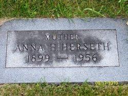 Anna H. <i>Swanson</i> Herseth