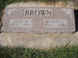 Loyal M Brown