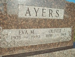 Eva May <i>Danner</i> Ayers