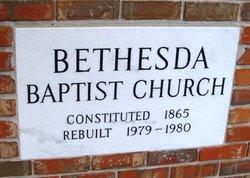 Bethesda Baptist Church Cemetery