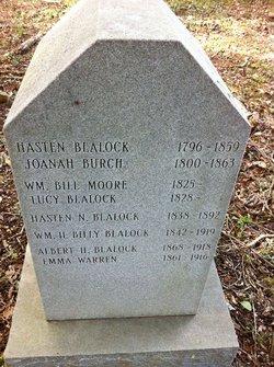 Old Blalock Cemetery