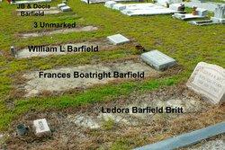 Frances <i>Boatright</i> Barfield