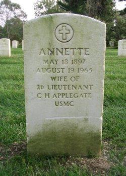 Annette Applegate
