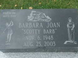 Barbara Joan Scotty Barb Scott