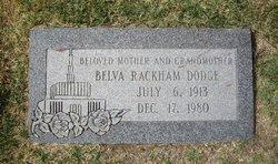 Belva Rackham <i>Woodruff</i> Dodge