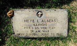 Heye L. Albers