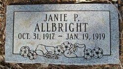 Janie Pamelia Allbright