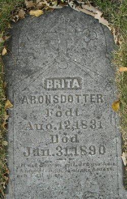 Brita Aronsdotter