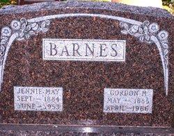 Jennie May <i>Honnold</i> Barnes