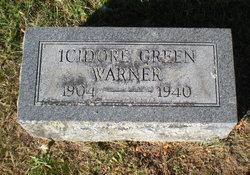 Icidore <i>Green</i> Warner