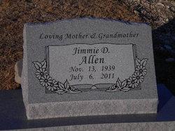 Jimmie Dee <i>Wilcox</i> Allen