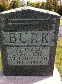 Virginia Ann <i>Fry</i> Burk