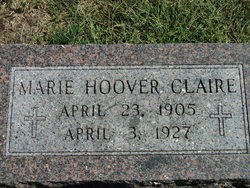 Marie <i>Hoover</i> Claire