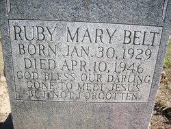Ruby Mary Belt