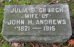 Julia B <i>Church</i> Andrews