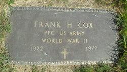 PFC Frank H. Cox