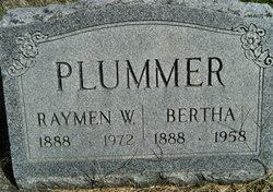 Bertha <i>Carrico</i> Plummer