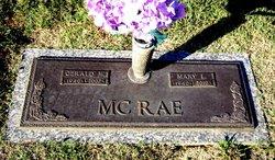 Mary Jane <i>Galloway</i> McRae