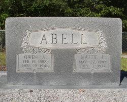 Mattie L Abell
