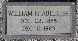 William Henry Abell, Sr
