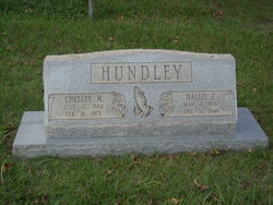 Chesley Marcellous Hundley