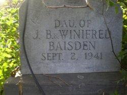 Baby Girl Baisden