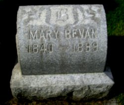 Mary <i>Brown</i> Bevan