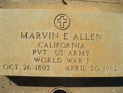 Marvin E Allen