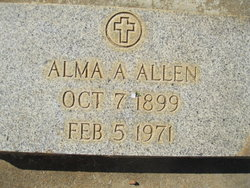 Alma Ellen Allen