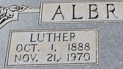 Wilburn Luther Albright