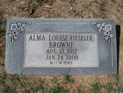 Alma Louise <i>Fieseler</i> Browne