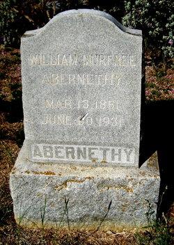 William Murfree Abernethy
