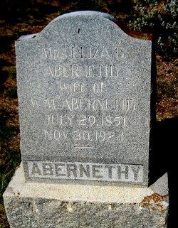 Eliza Gurtrude <i>Bundick</i> Abernethy