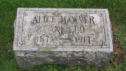 Alice <i>Hawver</i> Canfield