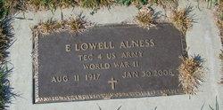 E Lowell Alness