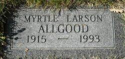 Myrtle <i>Larson</i> Allgood