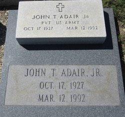 Pvt John Thomas Adair, Jr