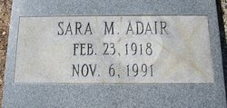 Sara <i>Minton</i> Adair