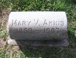 Mary V Akins