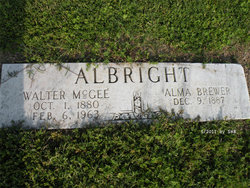 Walter McGee Albright