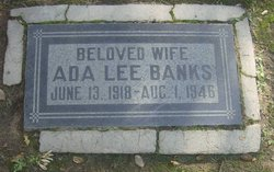 Ada Lee <i>Gibbs</i> Banks