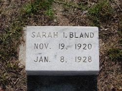 Sarah I Bland
