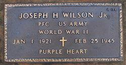 PFC Joseph Howard Wilson, Jr