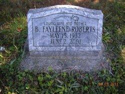 Billy Faylene <i>Durham</i> Roberts